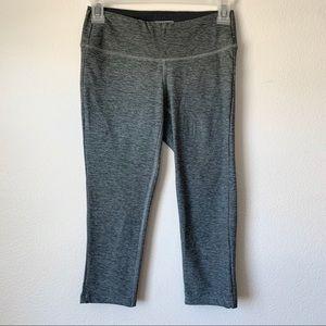 New Balance Gray Cropped Leggings
